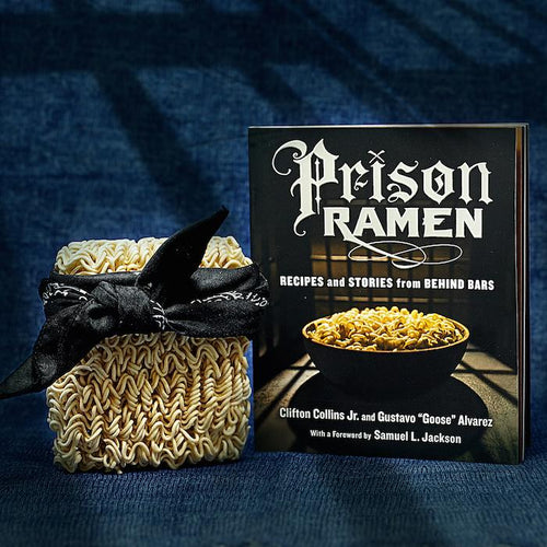 Prison Ramen Cookbook - Recipes and Stories From Behind Bars - Workman Publishing - AlwaysFits.com