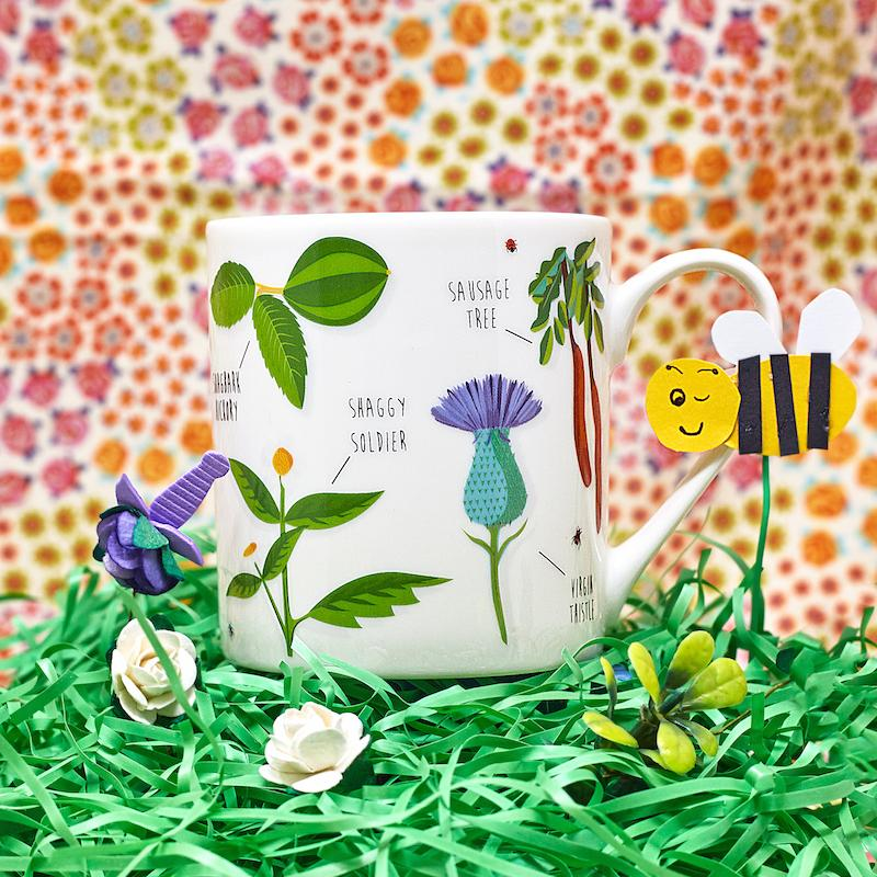 Ridiculously Rude Plants Coffee Mug - Ginger Fox - AlwaysFits.com