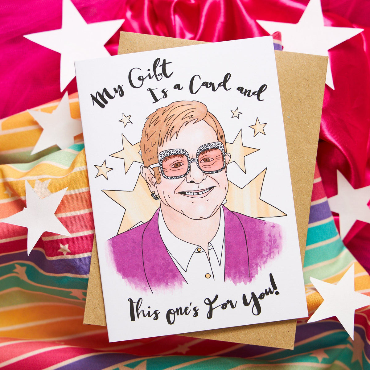 My Gift Is a Card and This One's for You Card