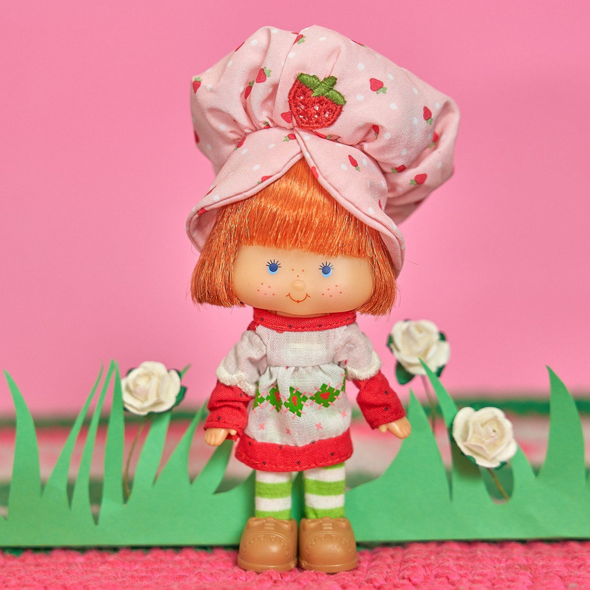 "Retro Strawberry Shortcake Doll - Scented 6"" Classic Doll - Schylling - AlwaysFits.com"