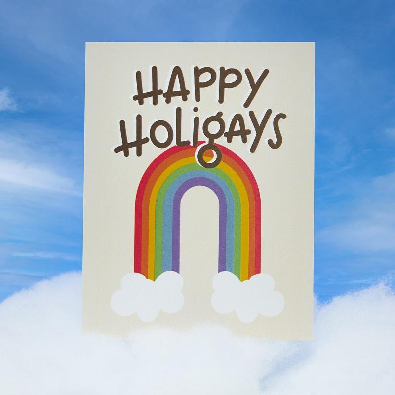 Happy Holigays Card