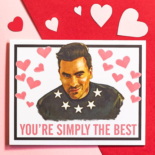 You're Simply the Best Card - Hello Harlot - AlwaysFits.com