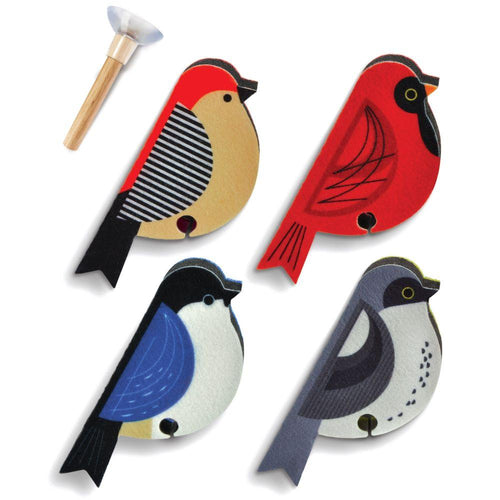 Perched Bird Sponge Set