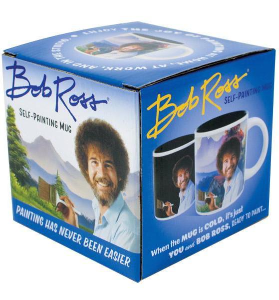 Bob Ross Self-Painting Color Changing Coffee Mug - Unemployed Philosophers Guild - AlwaysFits.com