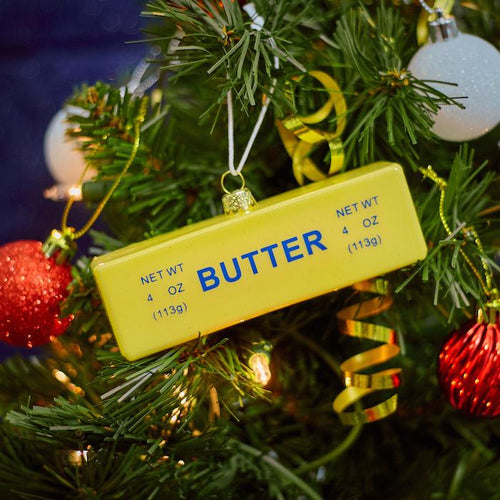 Stick of Butter Glass Ornament