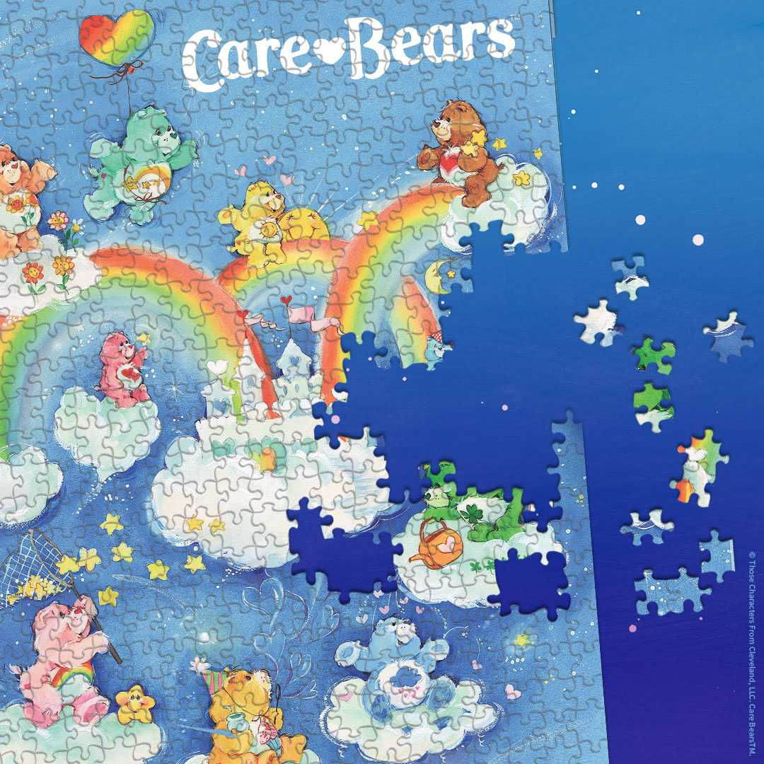 Care Bears Care-A-Lot 1,000 Piece Jigsaw Puzzle