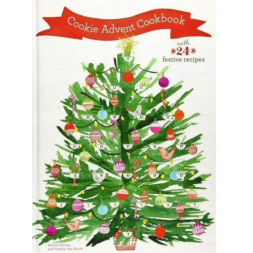 Cookie Advent Cookbook - With 24 Festive Recipes
