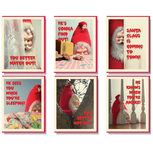 Creepy Santa Assorted Box Set
