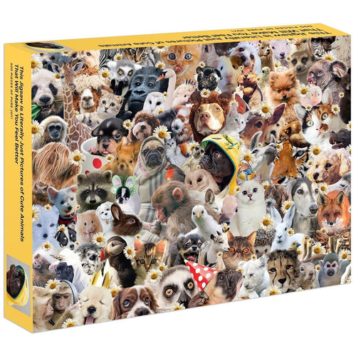 This Jigsaw is Literally Just Pictures of Cute Animals That Will Make You Feel Better Puzzle