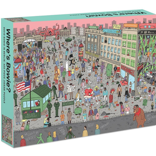 Where's Bowie? David Bowie in Berlin 500 Piece Jigsaw Puzzle