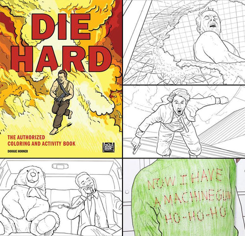 Die Hard Coloring and Activity Book - HarperCollins Publishers - AlwaysFits.com