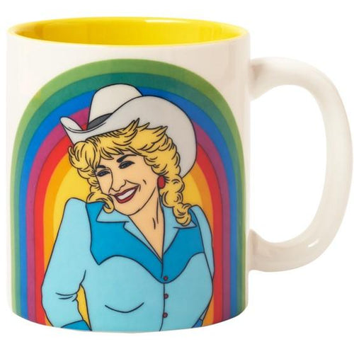 Dolly Rainbow Ceramic Coffee Mug