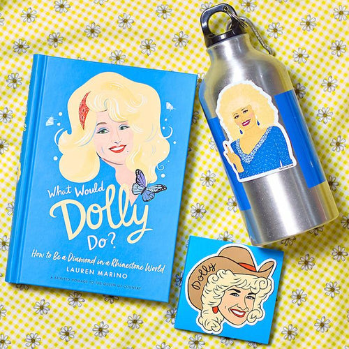 Dolly Parton Vinyl Sticker - The Found - AlwaysFits.com