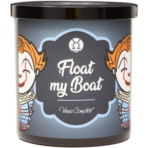 Float My Boat Horror Movie Candle