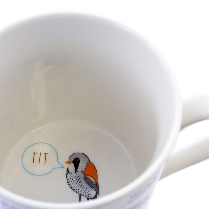 Fowl Language Bird Coffee Mug