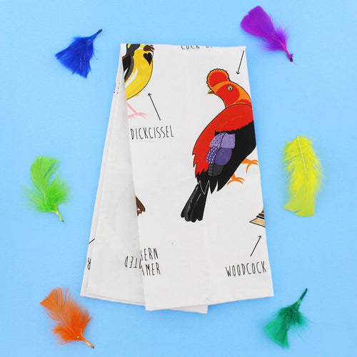 Fowl Language Bird Dish Towel - COMING SOON!