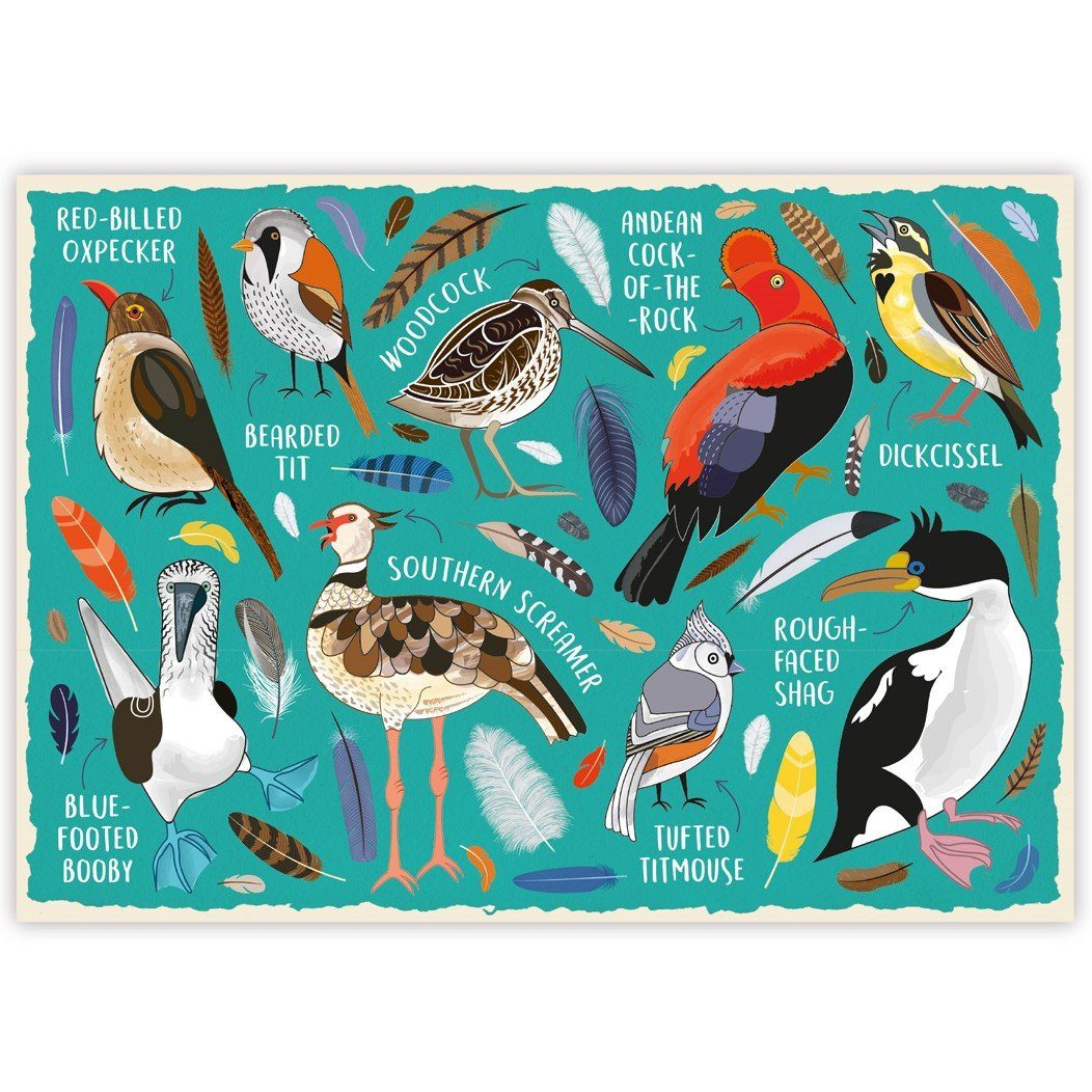 Fowl Language Bird 1,000 Piece Jigsaw Puzzle
