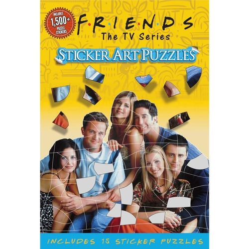 Friends Sticker Art Puzzles