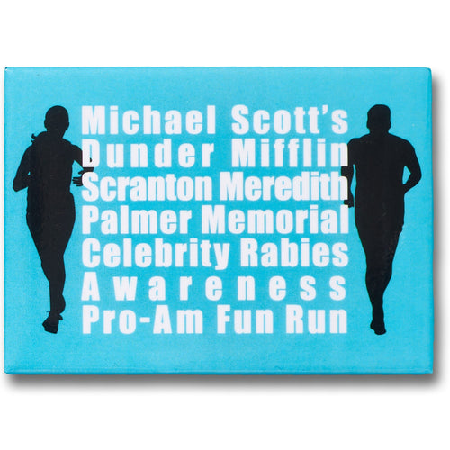 Michael Scott's Fun Run Magnet