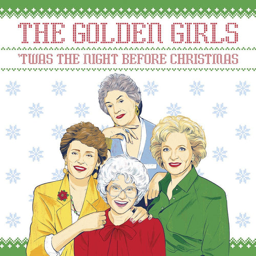 The Golden Girls 'Twas the Night Before Christmas Book - PRE-ORDER, SHIPS LATE OCTOBER