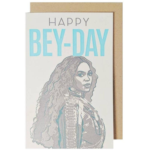 Happy Bey-Day Birthday Card