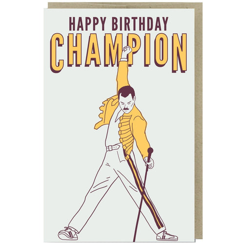 Happy Birthday Champion Card