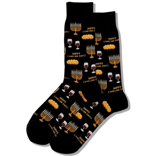 Happy Challah Days Men's Crew Socks