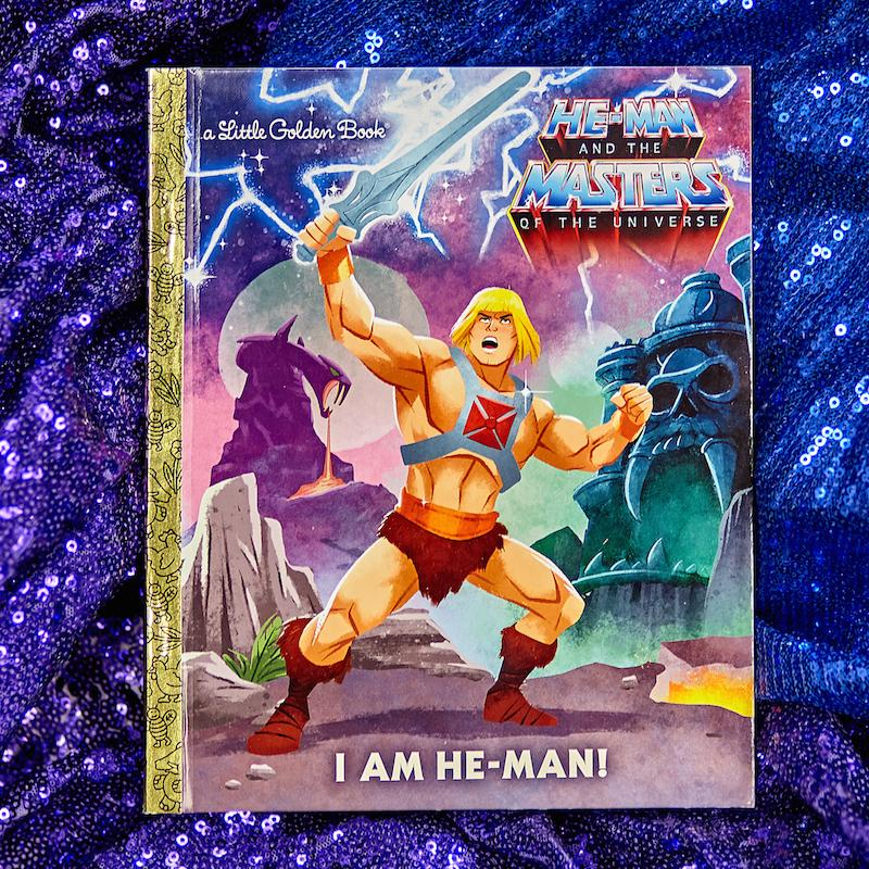 I Am He-Man! Little Golden Book - Penguin Random House - AlwaysFits.com