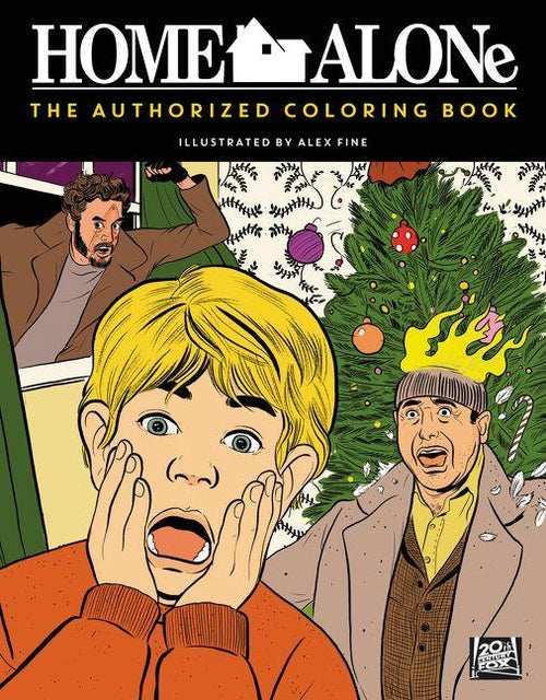 Home Alone Coloring Book