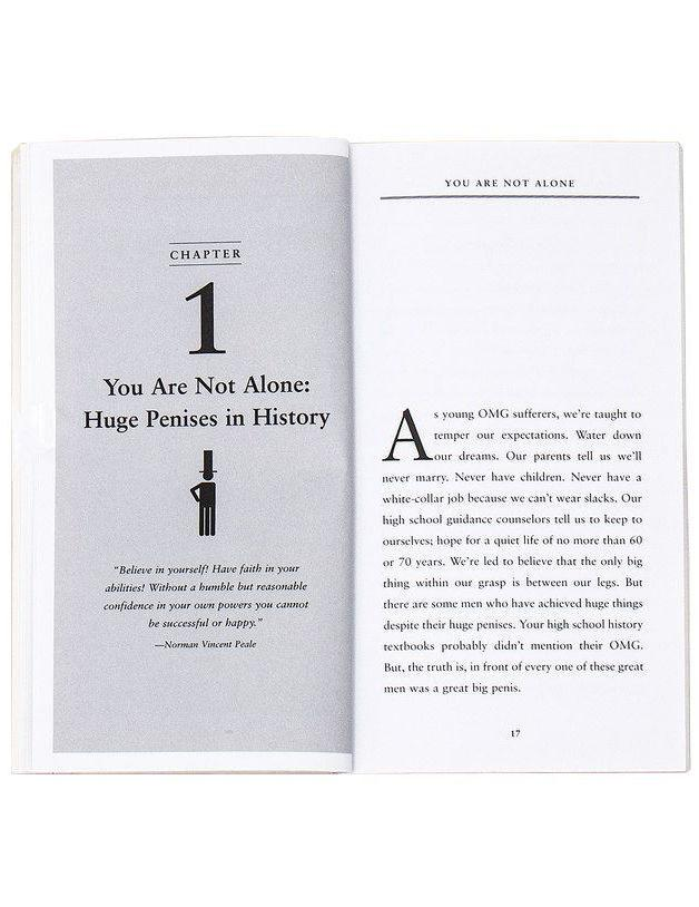 How to Live with a Huge Penis Book - Penguin Random House - AlwaysFits.com