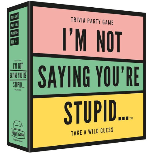 I'm Not Saying You're Stupid Trivia Party Game
