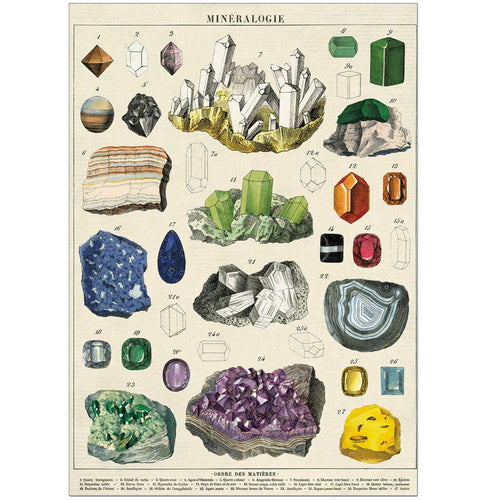 Mineralogy Card