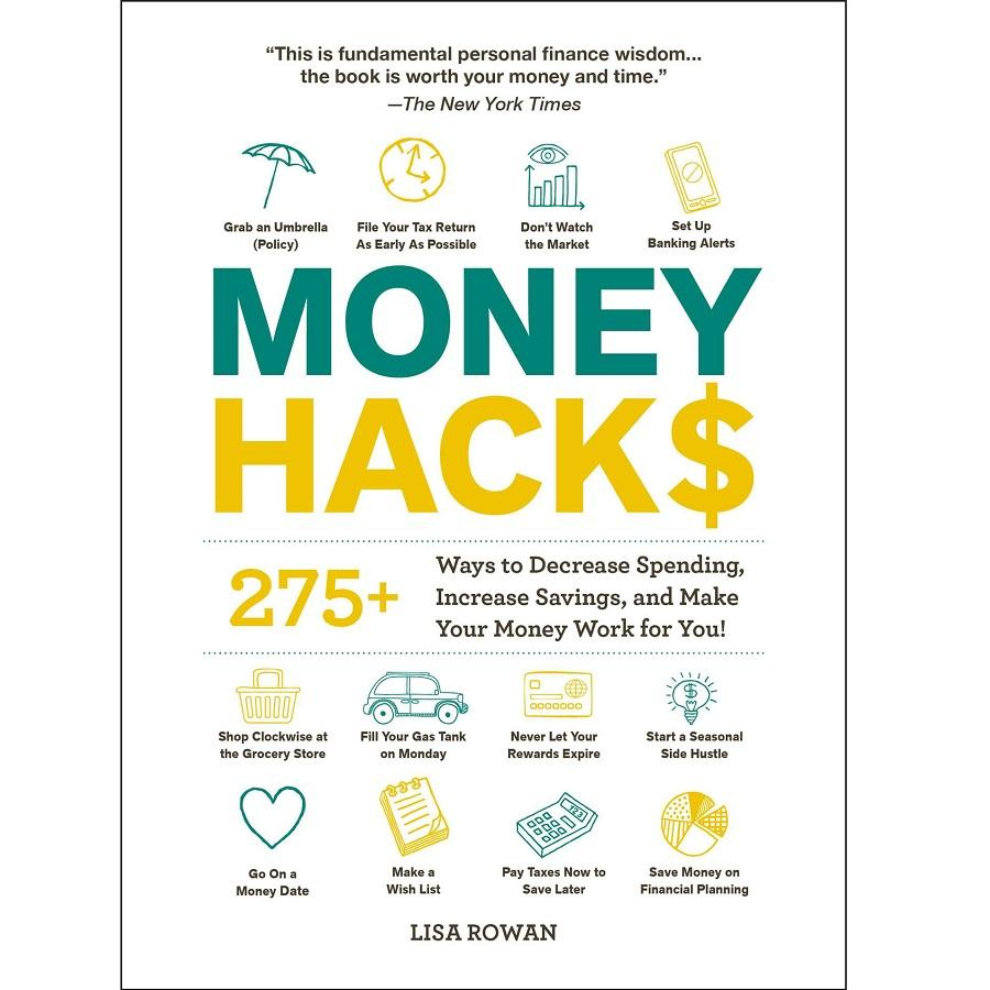 Money Hacks Book - 275+ Ways to Make Your Money Work for You!