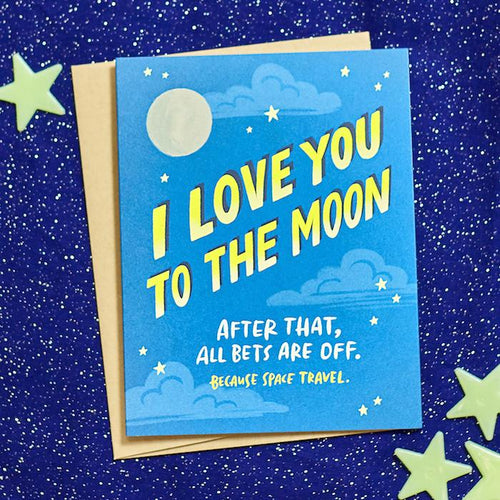I Love You to the Moon Card - Emily McDowell - AlwaysFits.com