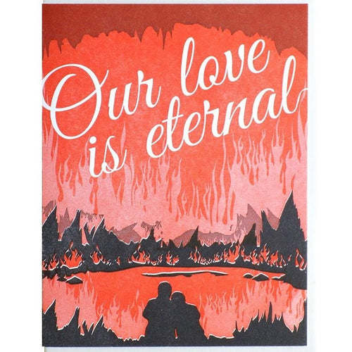 Our Love Is Eternal Card