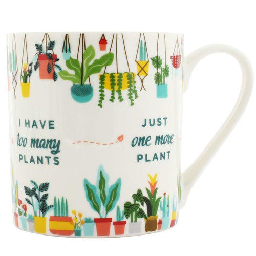 Plant Addict Ceramic Coffee Mug