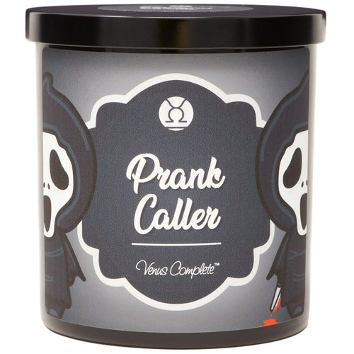 Prank Caller Horror Movie Candle
