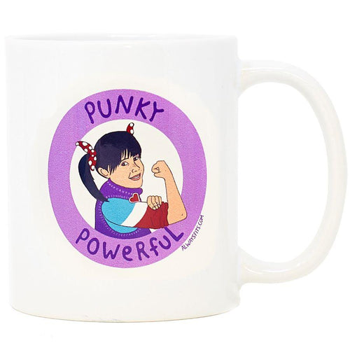 Punky Powerful Ceramic Coffee Mug