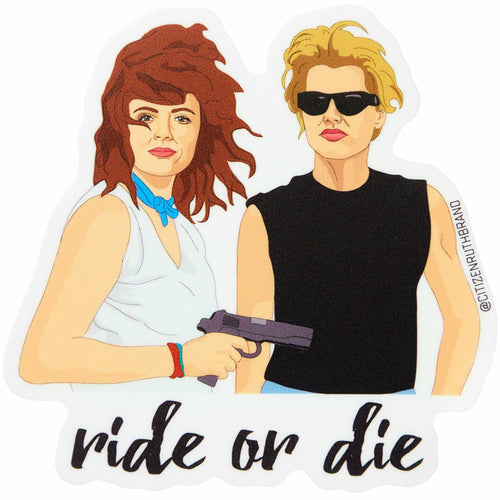Ride or Die Vinyl Sticker