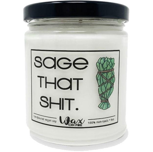 Sage That Shit Candle