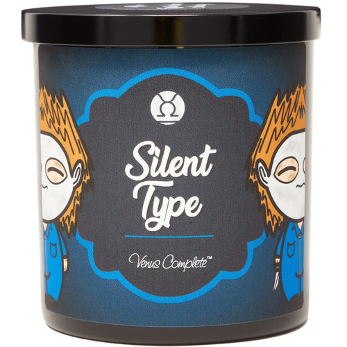 Silent Type Horror Movie Candle
