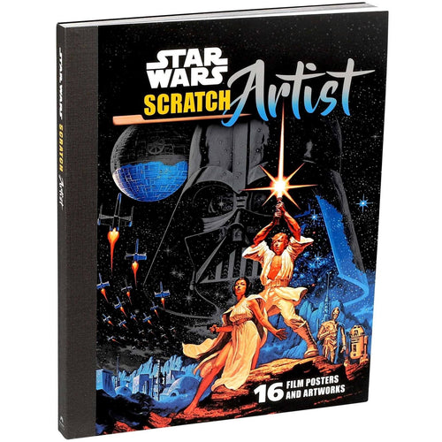 Star Wars Scratch Artist Book
