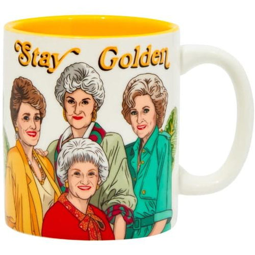 The Golden Girls Stay Golden Ceramic Coffee Mug