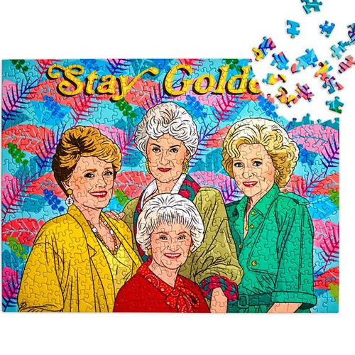 Stay Golden 500 Piece Jigsaw Puzzle