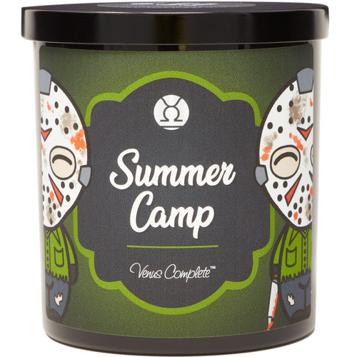 Summer Camp Horror Movie Candle
