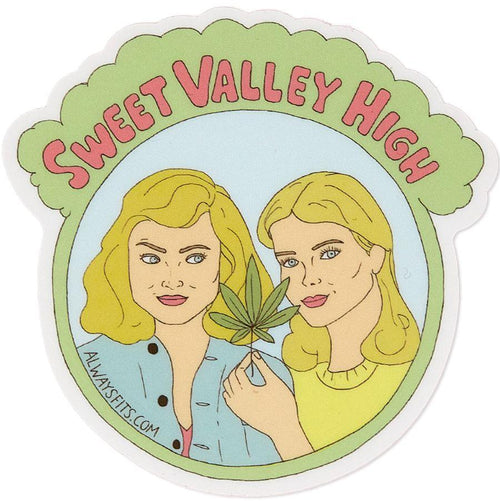 Sweet Valley High Vinyl Sticker