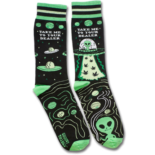 Take Me to Your Dealer Men's Crew Socks
