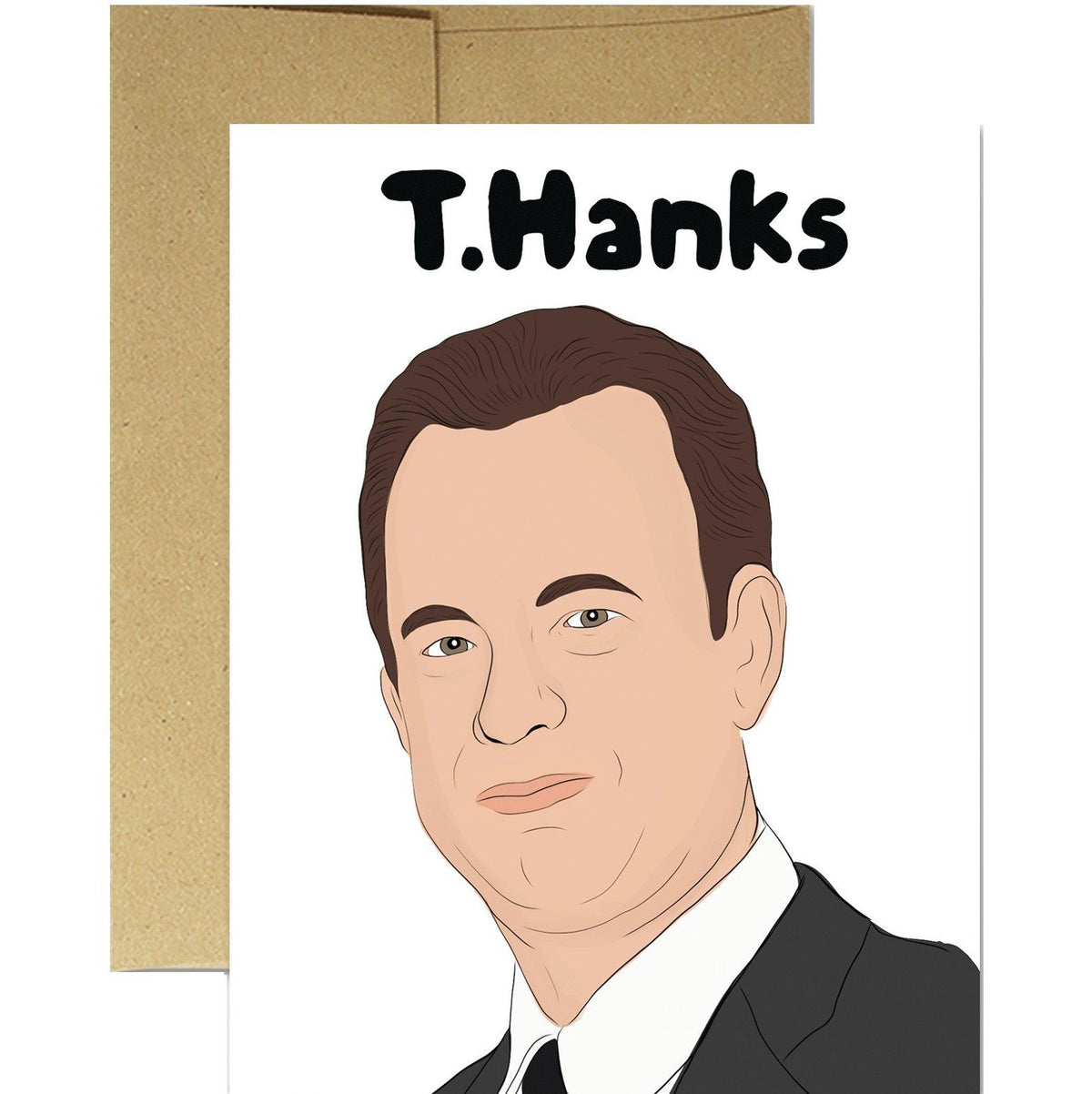 T. Hanks Card