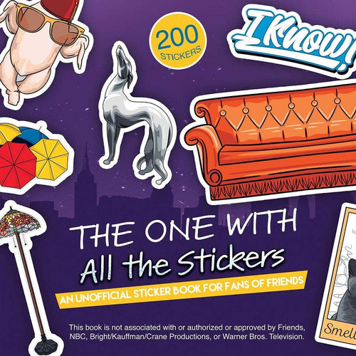 The One with All the Stickers Friends Sticker Book