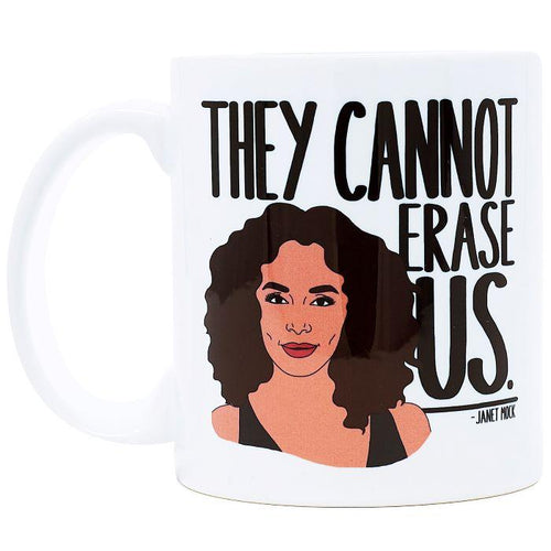 They Cannot Erase Us Ceramic Coffee Mug